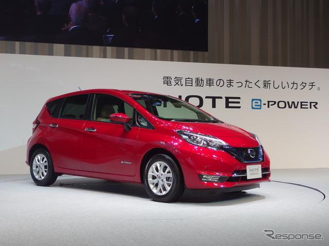 Nissan Note e-POWER (Photo by Kei Takagi)