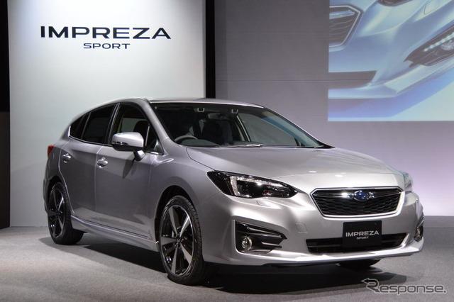 The all-new Subaru Impreza Sport