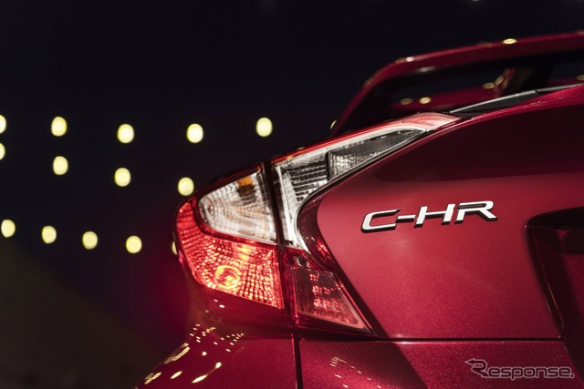 Teaser image of Toyota C-HR for US