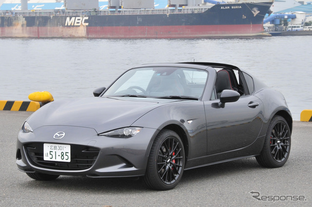 Photo Feature: Mazda introduces Roadster RF featuring retractable hardtop