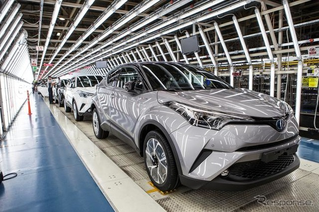 Toyota commences production of C-HR in Turkey
