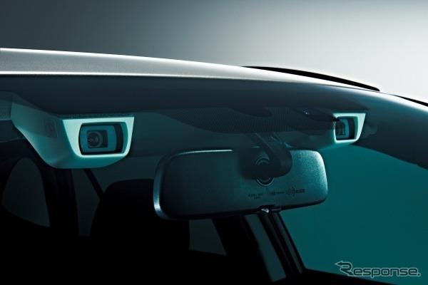 Stereo camera for Subaru's EyeSight technology