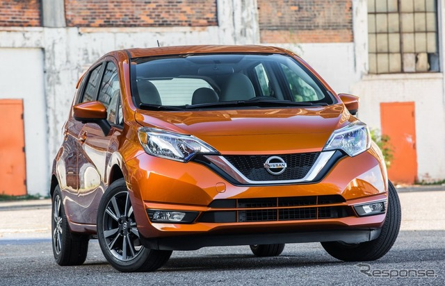The 2017 Nissan Versa Note