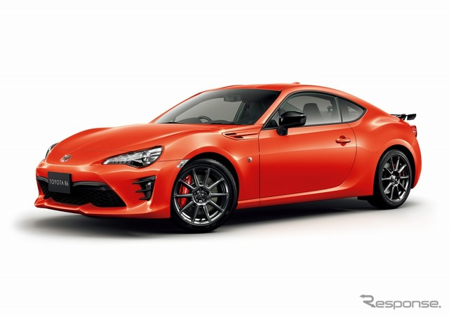 Toyota 86 GT Solar Orange Limited