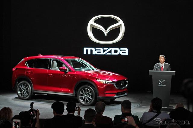 Mazda CX-5 (2016 Los Angeles Auto Show)