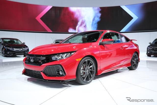 Honda Civic Si (2016 Los Angeles Auto Show)