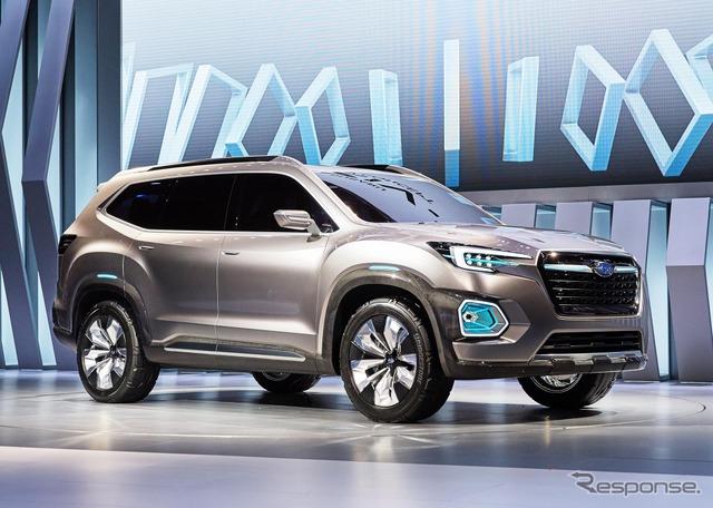 Subaru VIZIV-7 SUV Concept (2016 Los Angeles Auto Show)