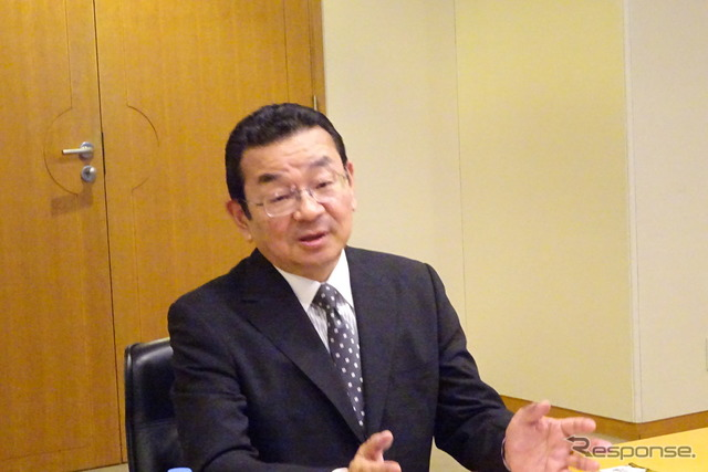 Honda President Takahiro Hachigo