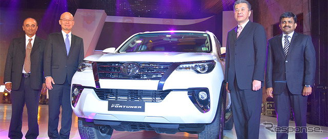 Toyota releases all-new Fortuner in India