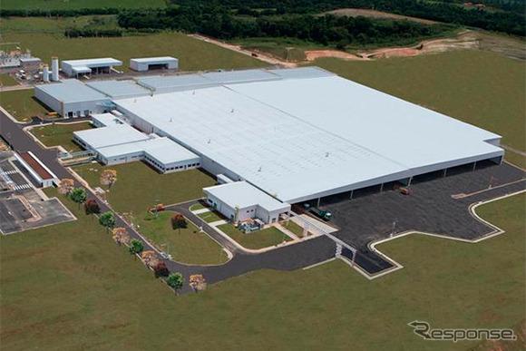 Toyota's Porto Feliz facility