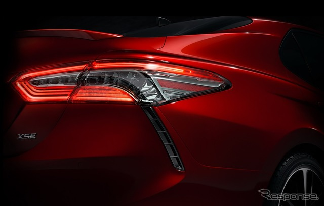 Teaser image of new Toyota Camry