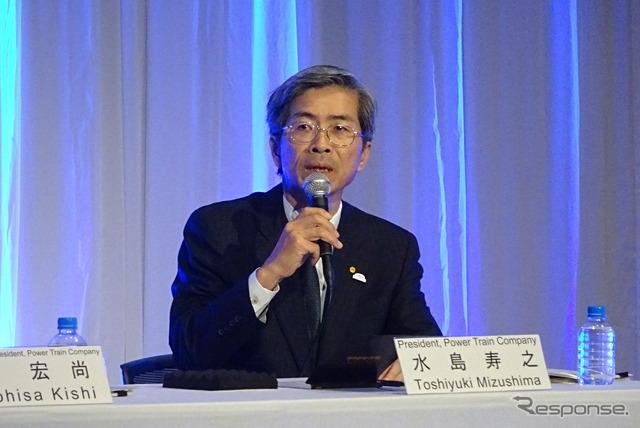Toyota executive Toshiyuki Mizushima