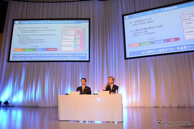 Toyota power train technology conference