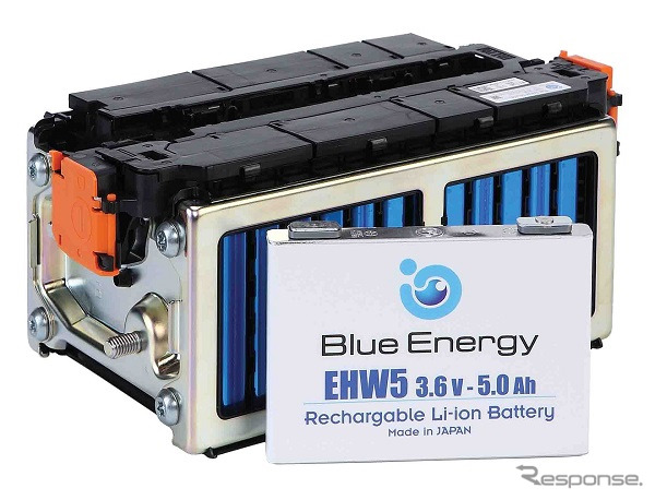 Blue Energy's EHW5 lithium-ion battery