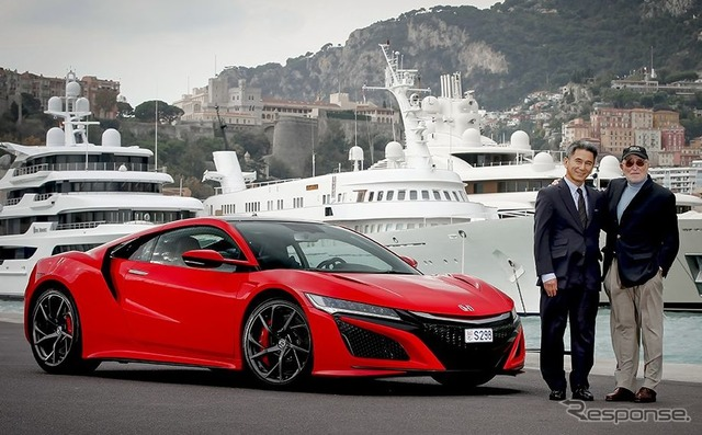 Honda delivers all-new NSX to first customer in Europe