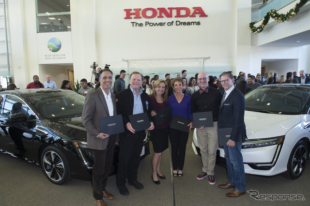 Honda delivers first Clarity Fuel Cell in the U.S.