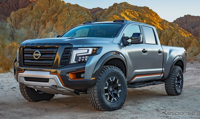 Nissan Titan XD Warrior Concept (reference image)