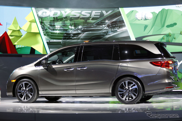 The all-new Honda Odyssey (North American model)