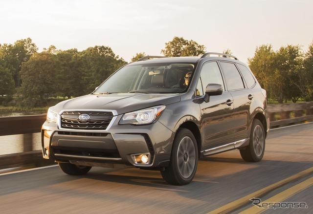 Subaru Forrester (2017 model)