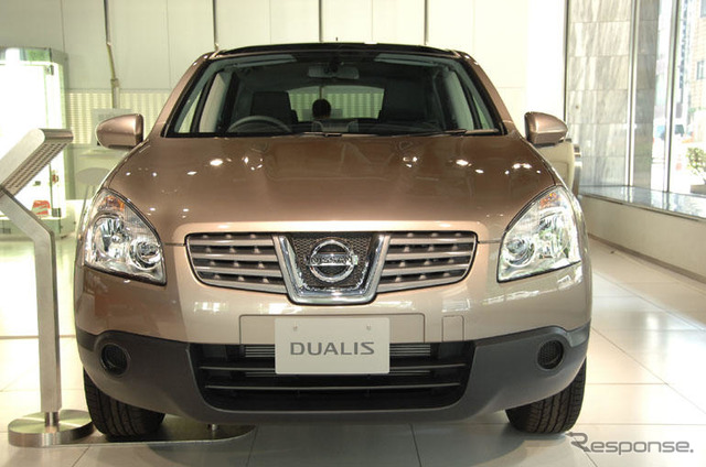 Start sales, Nissan Dualis