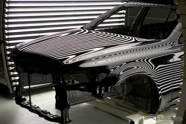 Lexus plant public... Continuous quality check