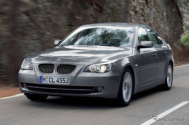 BMW, improvement of series 5 released... Including safety and curb price
