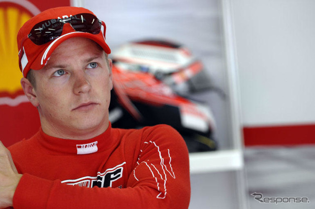 Peaceful seat in Ferrari for Raikkonen