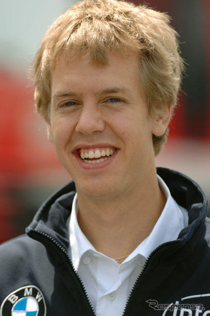 Vettel (BMW Sauber enrolled at)