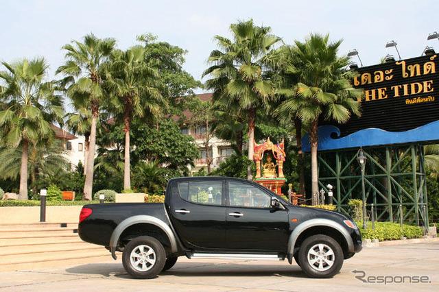 ประเทศไทย Mitsubishi Triton ไปยังการผลิต
