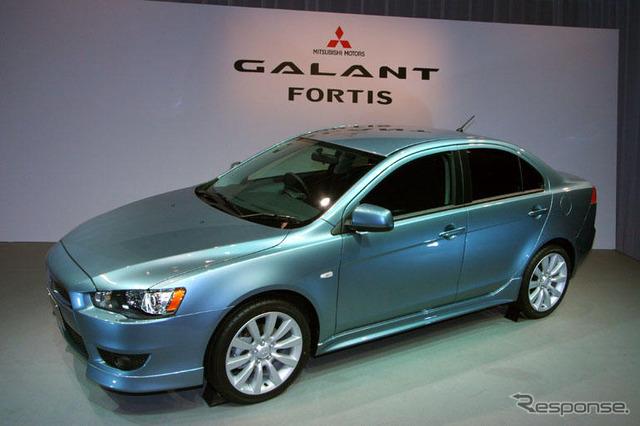 [ประกาศ Mitsubishi GALANT Fortis] สัปดาห์ที่ 3 ปล่อยในเวลาสามเดือนเป้าหมาย