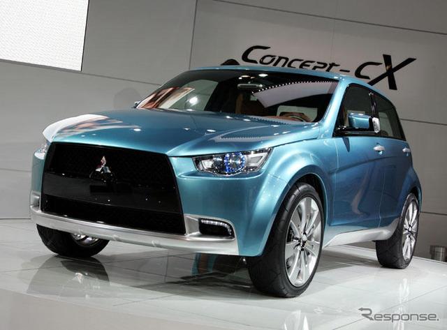 [แฟรงค์เฟิร์ตมอเตอร์แสดง 07: Mitsubishi cX... รถยนต์หลักสากลกลยุทธ์ของยุโรป