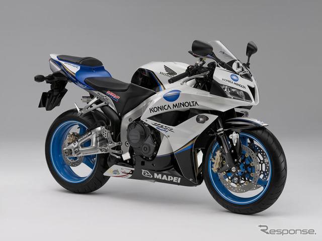 Honda MotoGP replica model... KONICA MINOLTA | Responsejp ...
