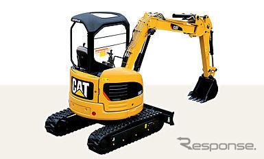 New products for Shin Caterpillar Mitsubishi, mini excavators