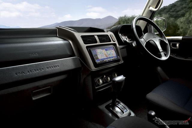 ส่วนหนึ่งของ Mitsubishi Pajero มินิ HDD นำทางระบบรุ่นปรับปรุง... การสนับสนุน SEG