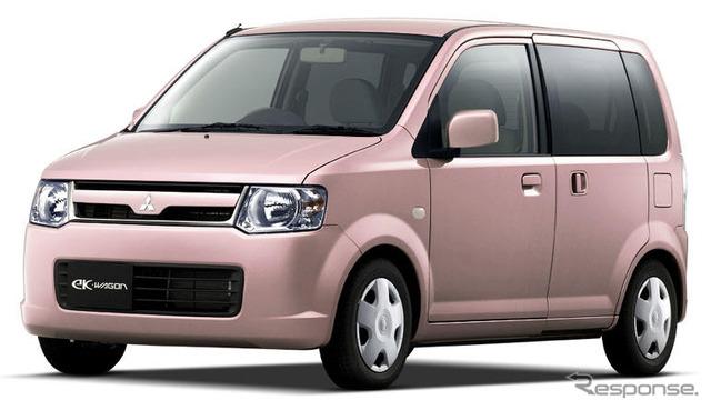 Mitsubishi eK wagon ในรถสเปคพิเศษเพลา Edition