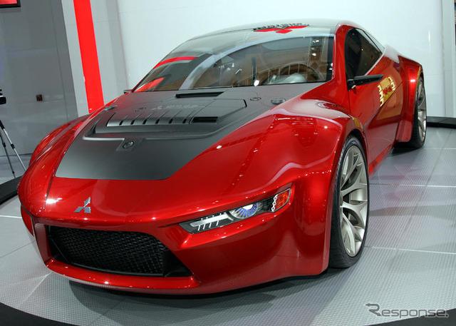[ดีทรอยต์มอเตอร์แสดง 08: แนวคิด Mitsubishi RA. ... ในอุปราคามาถึง