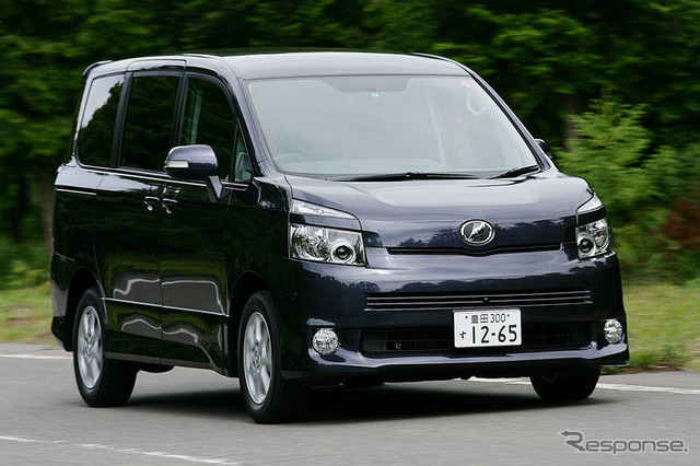 [Imple ' 08] Matsushita h. Toyota 'Noah/Voxy' distinctive top-end model