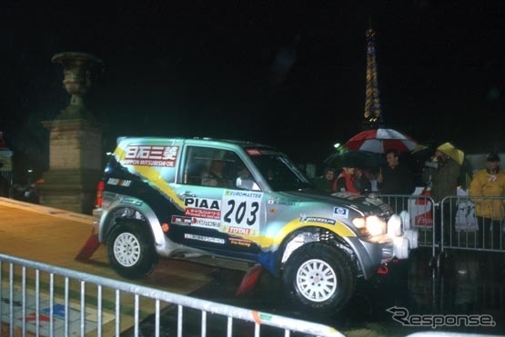 2001 Tournament start Shinozuka car