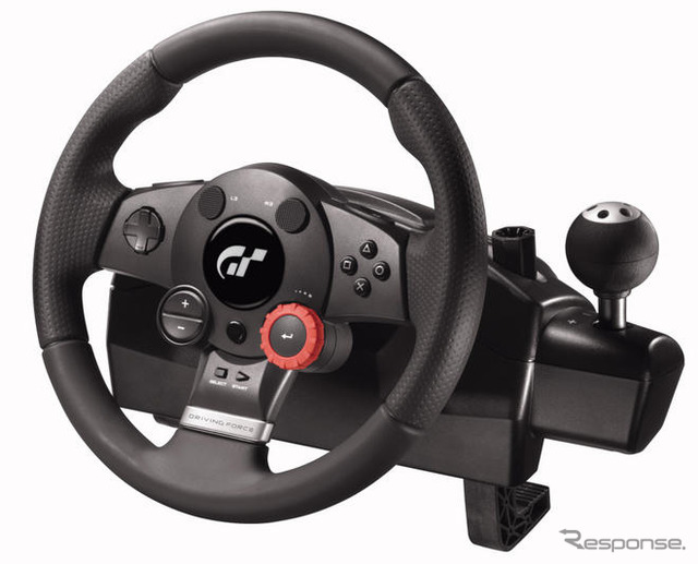"""Gran Turismo official steering controller latest film 'Driving Force GT' 28 June appeared"