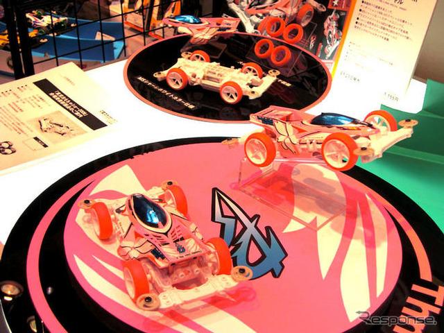 Salón del juguete de Tokio Tamiya-mini 4WD PRO, Thunder disparo especial Mk II Rosa (lanzado a finales de agosto)