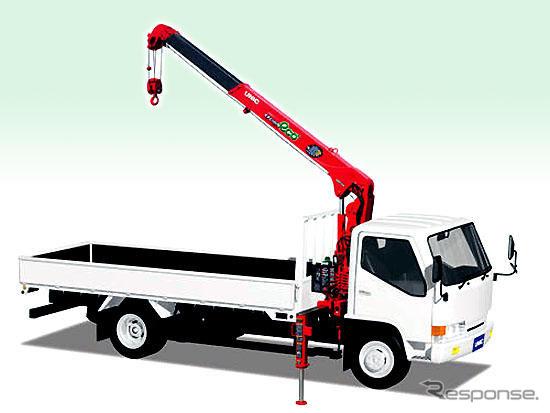 """Furukawa CINU, eficiente grúa serie """"U can ECO"""" para camiones, medium-sized, nuevo camión pequeño agrega desde 1 lanzamiento de agosto anunciada"""