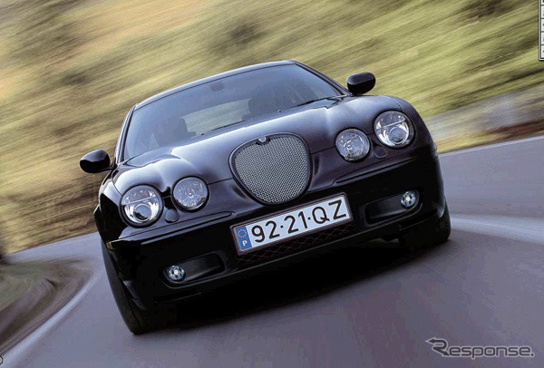 Red badge proud R performance ['Jaguar S type-R' announcement]
