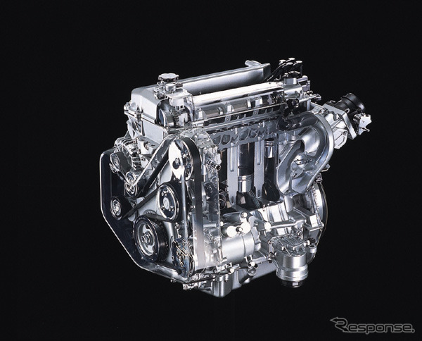 New series 4 cylinder 2.3 liter engine