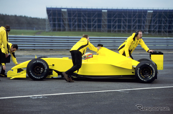 Shakedown at Silverstone, 21, the EJ12