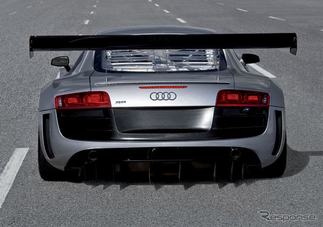 Audi R8 race specifications appeared