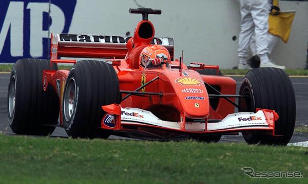 2001, Australia GP, Schumacher,