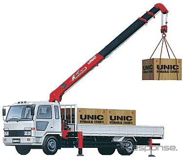 Lifting de Furukawa UNIC camiones grandes crane