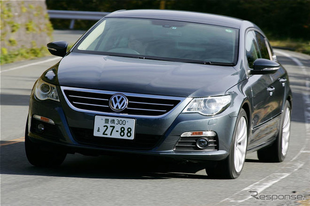 [Japan VW Passat CC announcement] 2.0 liter balanced driving