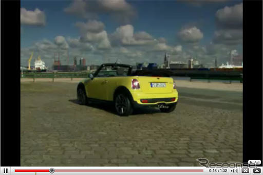 New MINI convertible... Appeared as early as videos