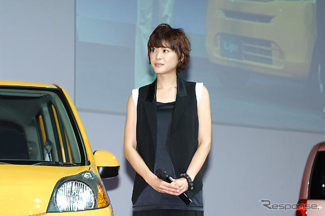 [Life new Honda] photo collection... Ueno JURI laugh